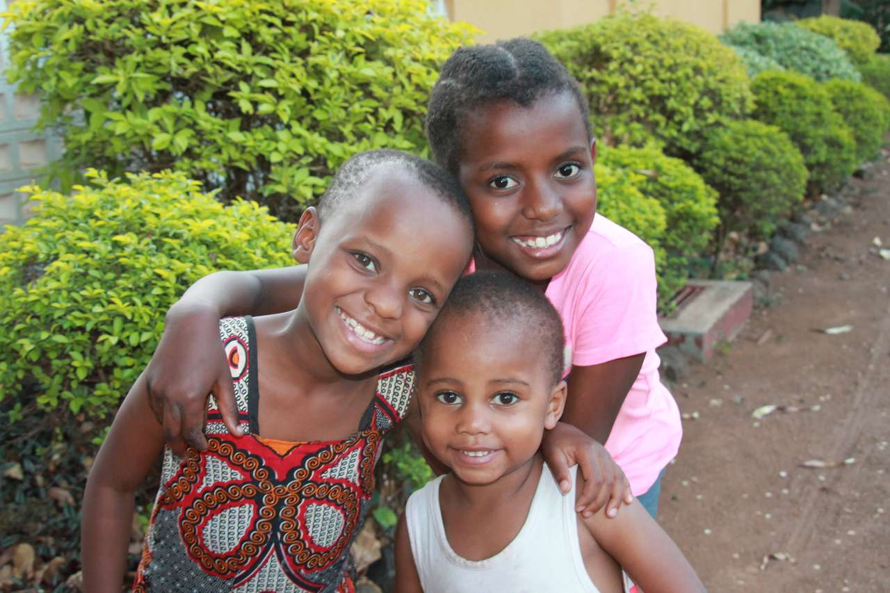 Sincere eyes of children from Treasures of Africa
