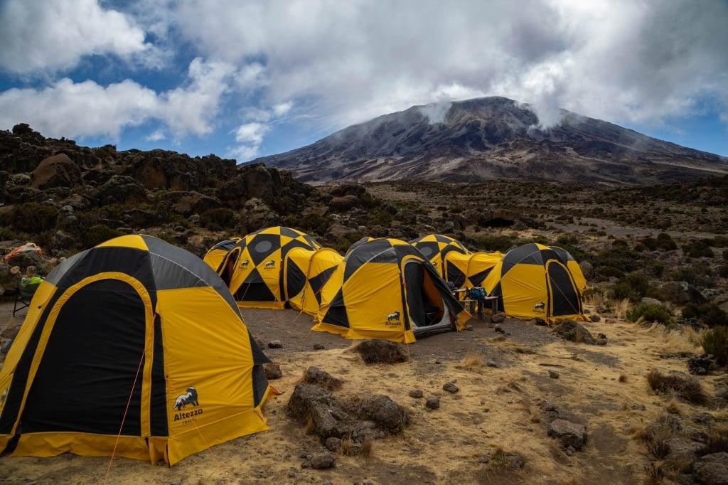 палаточный лагерь Altezza Kilimanjaro tents